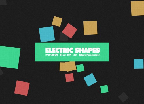 Electric Shapes - Gallery