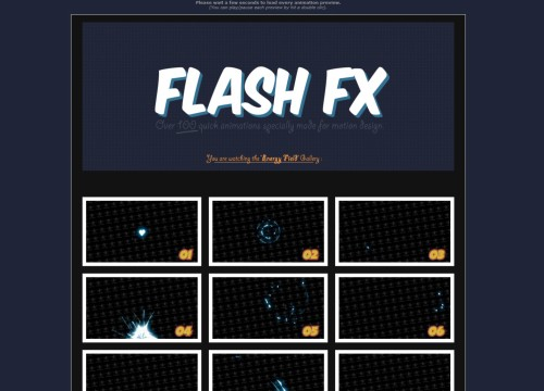 Flash FX Animation Pack - Gallery